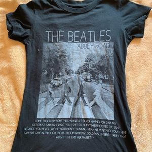 The Beatles Abbey Road Band Tee